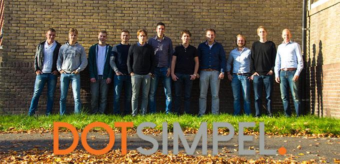 Dotsimpel teamfoto
